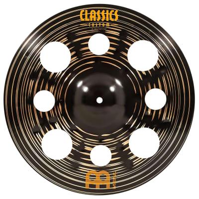 "Meinl 16"" Classics Custom Dark Trash Crash Cymbal 2019"