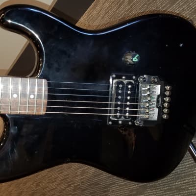 Fender Contemporary Stratocaster Black 1985 for sale