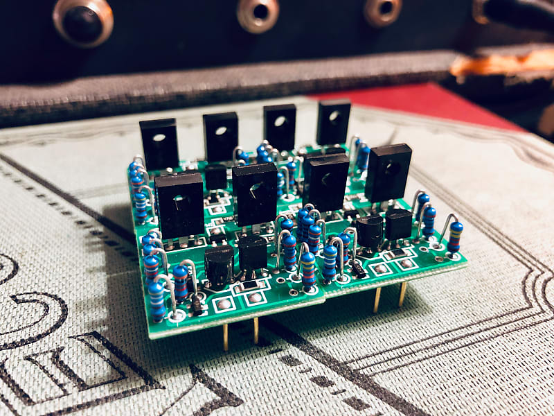 SL-2520 Red Dot Opamps - CAPI / DIY Preamp