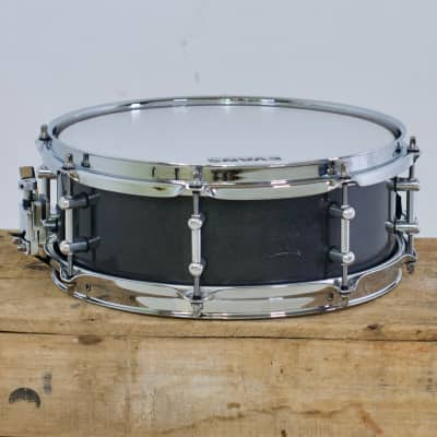 TreeHouse Custom Drums 4½x12 Maple Snare Drum Prototype Hi-Gloss Black Glitter