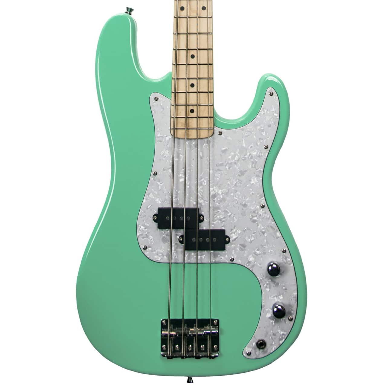 sawtooth ep series electric bass guitar surf green w pearl reverb. Black Bedroom Furniture Sets. Home Design Ideas
