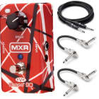 MXR EVH Phase 90 Eddie Van Halen Red Phaser w/ Hosa Cables! image
