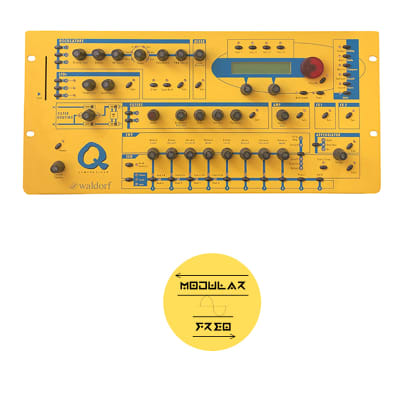Waldorf Q 1990s Yellow