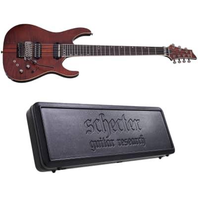 Schecter Banshee Elite-7 FR S Cat's Eye Pearl 7-String Electric Guitar + Hard Case Sustainiac FR-S for sale