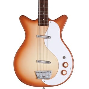 Danelectro '59 Dc Long Scale Bass Copperburst New, Free Shipping, D59DCBASS-CPR for sale