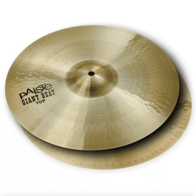 """Paiste 15"""" Giant Beat Hi-Hat Cymbals (Pair) Traditional"""