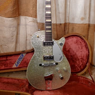 Gretsch  6129 Silver Jet 1955 Silver Sparkle for sale