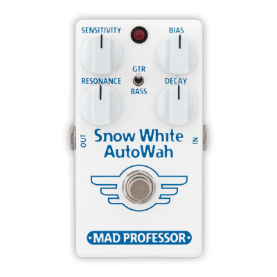 Mad Professor Snow White Auto Wah GB with Guitar/Bass Switch - NEW - AUTHORIZED DEALER full warranty for sale