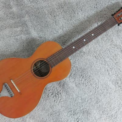 Vintage 1920s Wurltizer Parlor Acoustic Guitar Lakeside Washburn Regal Project Rare Project High Act for sale