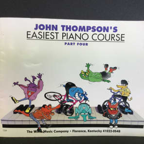 Willis Music John Thompson's Easiest Piano Course - Part 4 - Book Only: Part 4 - Book only