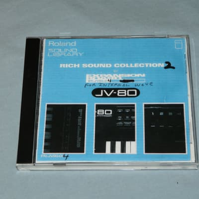 Roland PN-JV80-04 Rich Sound Collection # 2 ROM Card For JV Series of Synths.