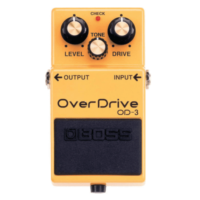 NEW Boss OD-3 Overdrive Pedal