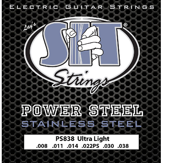 sit ps838 power steel stainless electric guitar strings reverb. Black Bedroom Furniture Sets. Home Design Ideas