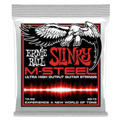 Ernie Ball M-Steel Cobalt Electric Guitar Strings - Skinny Top Heavy Bottom (10-52)
