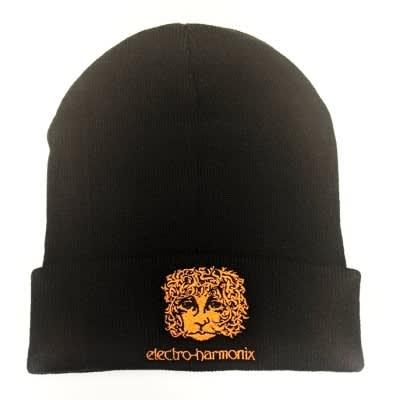 NEW ELECTRO HARMONIX BLACK BEANIE HAT
