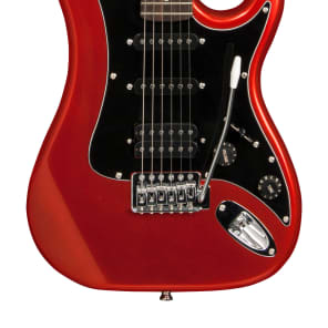 Washburn S2HMRD Sonamaster S2 HSS with Reverse Headstock Metallic Red