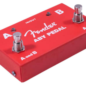 Fender ABY 2-Way Switch Pedal for sale