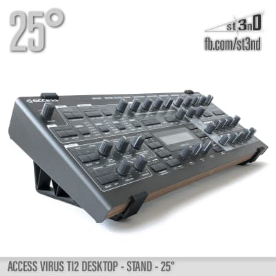 ACCESS VIRUS Ti2 STAND- 25 degrees - 3D printed- 100% Buyers Satisfaction