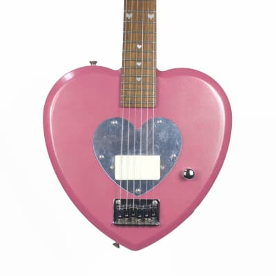 Daisy Rock  Debutante Heartbreaker Short Scale  Pink Electric Guitar