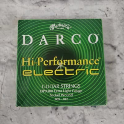 Martin Darco Electric Guitar Strings DP9300 9-42 Electric Guitar Strings
