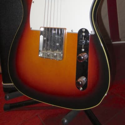 Vintage 1985 Fender '62 Re-Issue Telecaster Custom Sunburst MIJ for sale