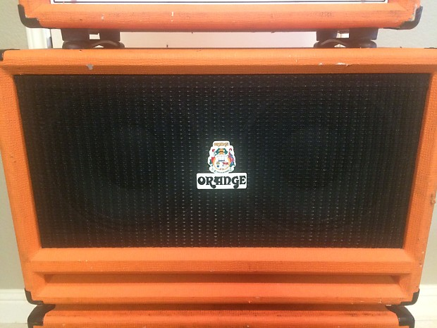 Orange Sp410 4x10 1200w Isobaric Bass Cabinet Rare Reverb