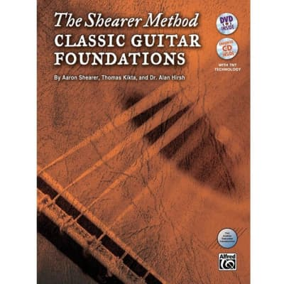 The Shearer Method: Classical Guitar Developments - Book 1 (w/ DVD)