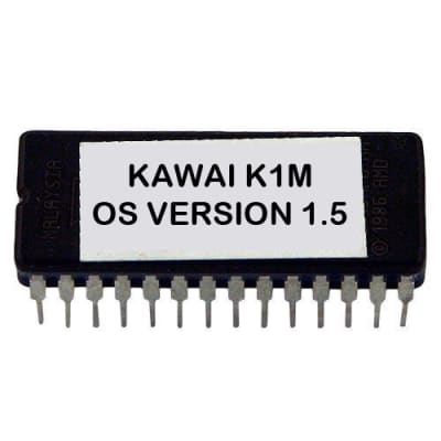 Kawai K1m - Version 1.5 Firmware Upgrade Update OS Eprom for K1-m Desktop Synth