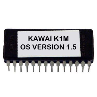 Kawai K1m - Version 1.5 Firmware Upgrade Update OS Eprom for K1-m Desktop Synth