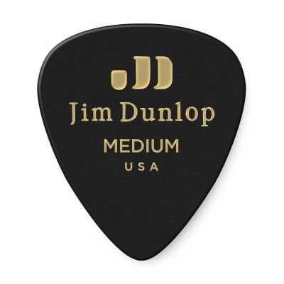 Dunlop 483R03MD Celluloid Standard Classics Medium Guitar Picks (72-Pack)