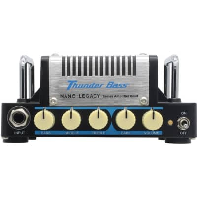 Hotone Nano Legacy Thunder Bass 5W bass guitar amp head for sale