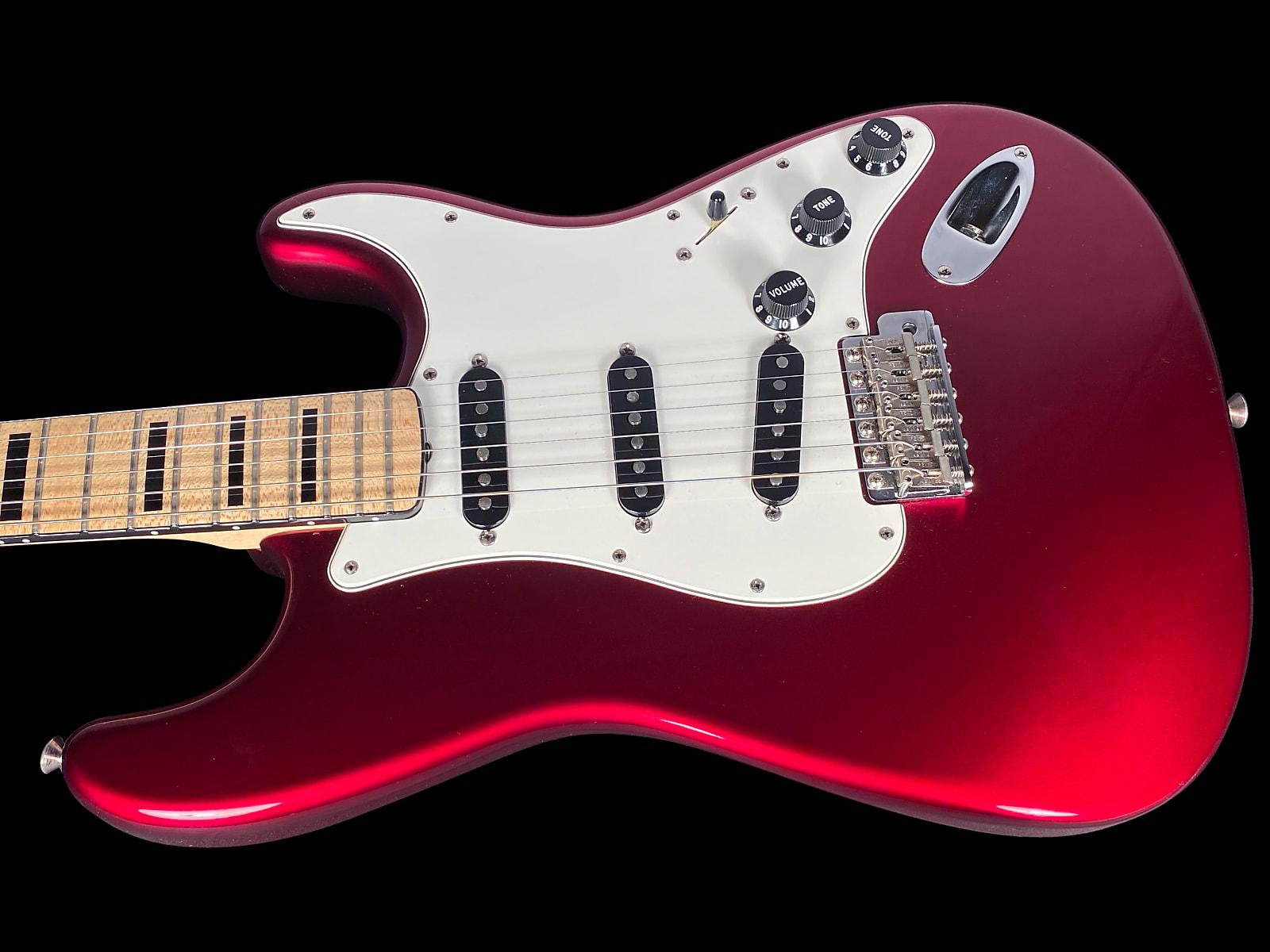 1997 Fender Stratocaster Custom 1969 Custom Shop Masterbuilt by Gene Baker ~ Candy Apple Red