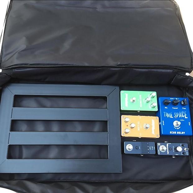 Guitar Pedal Board Setup Big Style DIY Guitar Pedalboard 60*33*10cm  Portable Effects Pedal Board