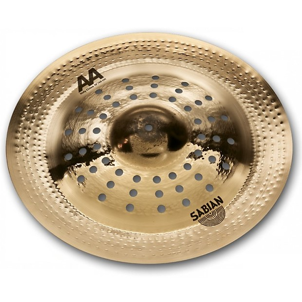 sabian 19 inch aa holy china cymbal 21916cs 6 string reverb. Black Bedroom Furniture Sets. Home Design Ideas