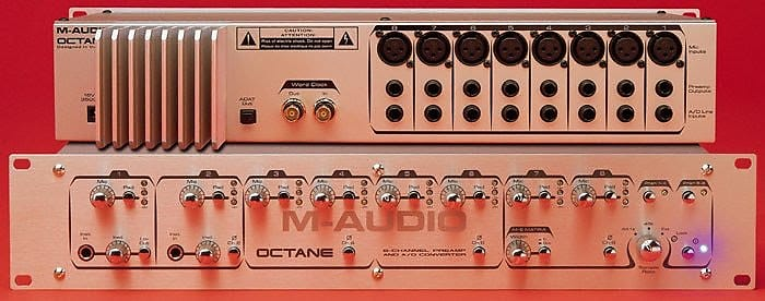 M-Audio Octane 8-Channel Preamp and A/D Converter | Urbanmix
