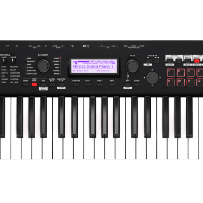 "Korg KROSS 61 Key Synthesizer Workstation""Open Box Demo"""