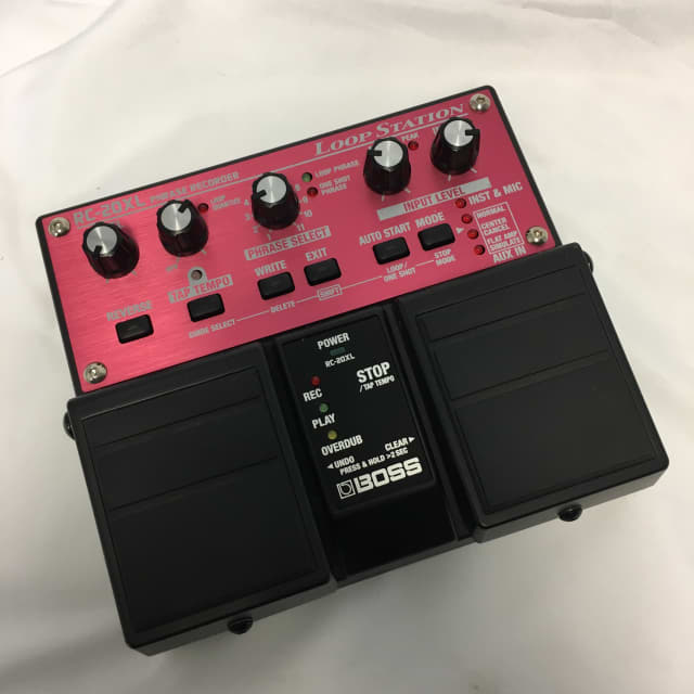 Boss TC-20XL Phase Recorder Effects Pedal image