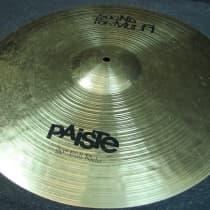 "Paiste 20"" Sound Formula Full Ride Late 1990s image"