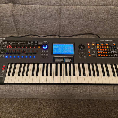 Yamaha Montage 6 Flagship Synthesizer, Gator TSA Case & 8 Sound Libraries, John Melas Complete Pack