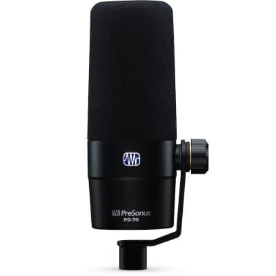 PreSonus PD-70 Dynamic Cardioid Broadcast Microphone