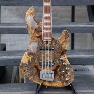 Mayones Jabba 4 Custom 2019 Buckeye Burl for sale