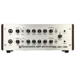 Warwick LWA 1000 Watt 2-Channel Bass Head