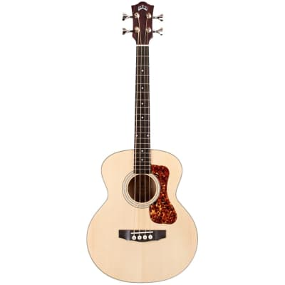 Guild Jumbo Junior Bass Natural Electro-Acoustic Bass Guitar for sale