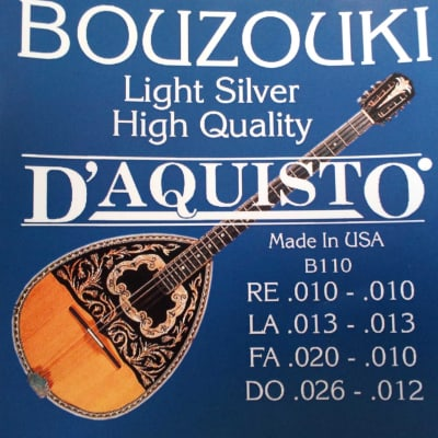 10 sets D'Aquisto Bouzouki strings best price in the world