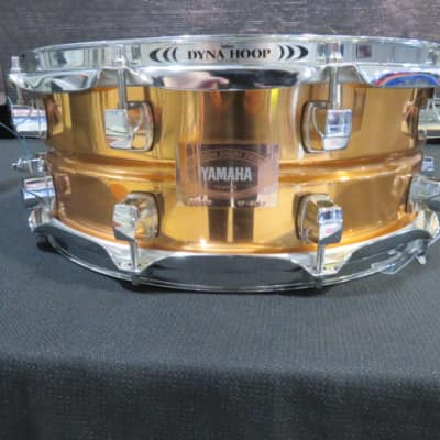 "Yamaha Custom Snare Drum Copper Made in Japan SD6105  5.5x14"" 10 Lug Snare Drum"