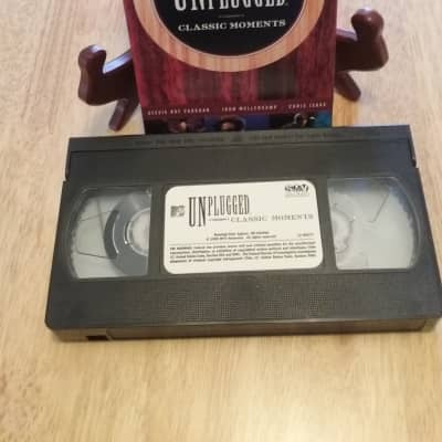 VHS Vintage Artist 1999--Unplugged Classic Moments