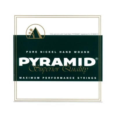 Pyramid Electric Pure Nickel D502 Maximum Performance Strings 10-46