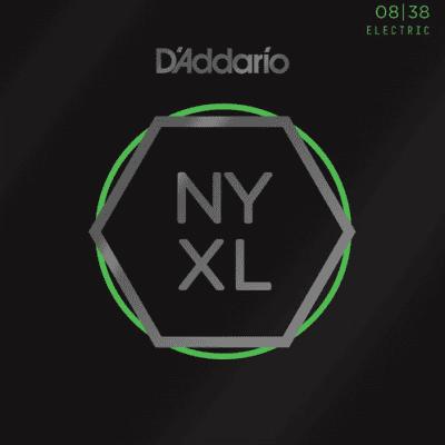 D'Addario NYXL0838 Nickel Wound Extra Super Light Electric Strings 8-38