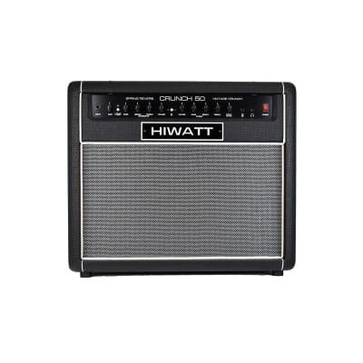 "Hiwatt Crunch 50R 50W Combo w/ 1x12"" Speaker & Spring Reverb for sale"