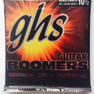 GHS Boomers Electric Guitar Strings GB 10&1/2 light+  10.5-48